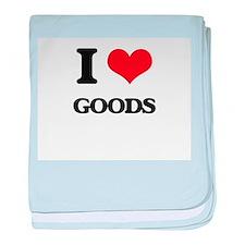 I Love Goods baby blanket