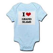 I Love Grand Slams Body Suit