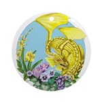 Spring Dragon Ornament (round)