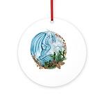 Winter Dragon Ornament (round)