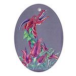 Dracunculus Ornament (oval)