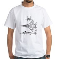 F-15 Eagle Schematic Shirt