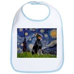 Starry Night Doberman Bib