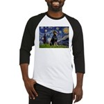 Starry Night Doberman Baseball Jersey