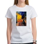 Cafe & Doberman Women's T-Shirt