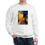 Cafe & Doberman Sweatshirt