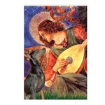 Mandolin Angel & Dobie Postcards (Package of 8)