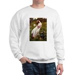 Windflowers / Doberman Sweatshirt