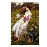 Windflowers / Doberman Postcards (Package of 8)