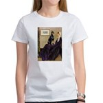 Mom's Doberman (#1) Women's T-Shirt