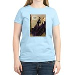 Mom's Doberman (#1) Women's Light T-Shirt