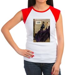 Mom's Doberman (#1) Women's Cap Sleeve T-Shirt