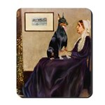 Mom's Doberman (#1) Mousepad