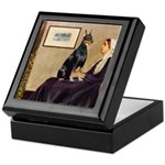 Mom's Doberman (#1) Keepsake Box