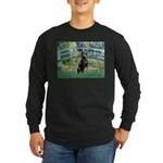 Bridge / Doberman Long Sleeve Dark T-Shirt