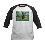 Bridge / Doberman Kids Baseball Jersey