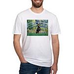 Bridge / Doberman Fitted T-Shirt