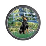 Bridge / Doberman Wall Clock