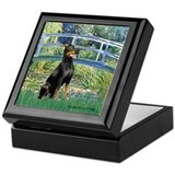 Bridge / Doberman Keepsake Box