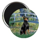 Bridge / Doberman Magnet