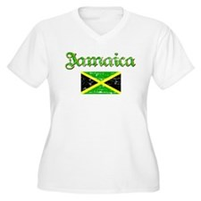 Jamaican distressed flag T-Shirt