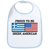 Greek American Bib