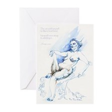 Faun Kitten Greeting Cards (Pk of 10)