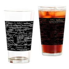 Math Bits Drinking Glass