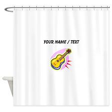 Custom Guitar Shower Curtain