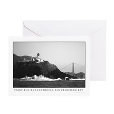 sf bay area lighthouses Greeting Cards (6)