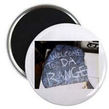 "Welcome to Da Range 2.25"" Magnet (10 pack)"
