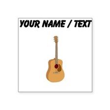 Custom Acoustic Guitar Sticker