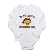 Unique I love design Long Sleeve Infant Bodysuit