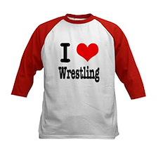 I Heart (Love) Wrestling Tee