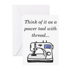 Cute Seamstress Greeting Cards (Pk of 10)