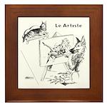 The Artist Framed Tile