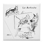 The Artist Tile Coaster