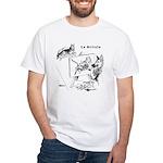 The Artist White T-Shirt