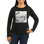 The Artist Women's Long Sleeve Dark T-Shirt