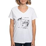 The Artist Women's V-Neck T-Shirt