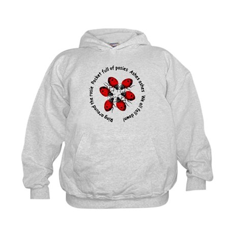 Ladybugs Playing Kids Hoodie