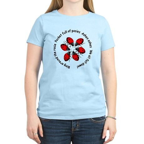 Ladybugs Playing Women's Light T-Shirt