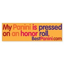 Paninimobile Bumper Bumper Sticker