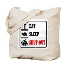 Eat Sleep Hockey -Goalie Tote Bag
