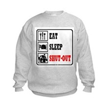 Eat Sleep Hockey -Goalie Sweatshirt