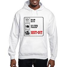 Eat Sleep Hockey -Goalie Hoodie