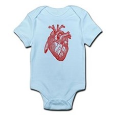 Anatomical Heart - Red Body Suit
