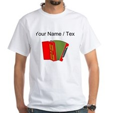 Custom Red Accordion T-Shirt