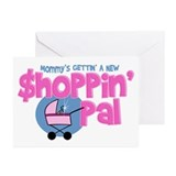 Mommy's New Shopping Pal Greeting Cards (Pk of 10)