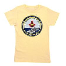 USS George H. W. Bush CVN-77 Girl's Tee